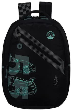 Skybags ASTRO CAR THEME BLACK SCHOOL BACKPACK 32L Backpack