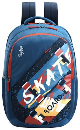 Skybags ASTRO PLUS SKATE THEME TEAL SCHOOL BACKPACK 34L Backpack