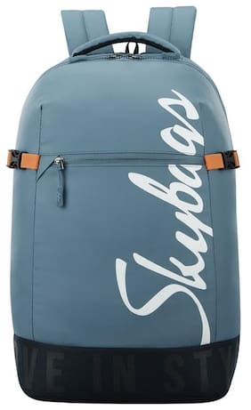 Skybags BOHO WITH RAIN COVER BLUE CASUAL BACKPACK 23L Backpack