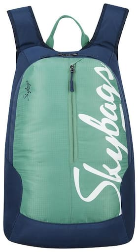 Skybags BOHO GREEN CASUAL BACKPACK 18L Backpack