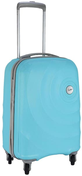 Skybags Cabin Size Hard Luggage Bag - Blue , 4 Wheels