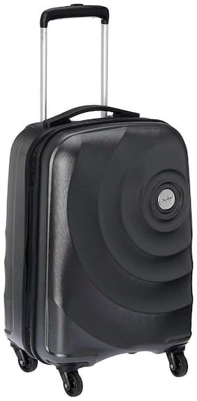 Skybags Cabin Size Soft Luggage Bag ( Black , 4 Wheels )