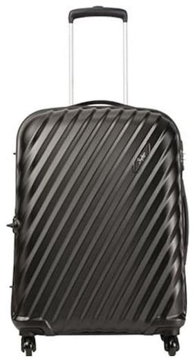 Skybags Cabin Size Hard Luggage Bag ( Black , 4 Wheels )