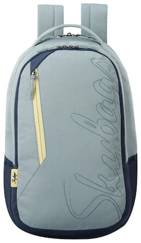 Skybags CAMPUS GREY LOGO PRINT COLLEGE LAPTOP BACKPACK 30L Laptop Backpack