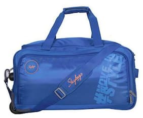 Skybags Polyester Men Duffle bag - Blue