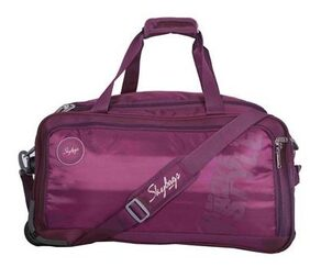 Skybags Polyester Men Duffle Bag - Purple