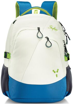 SKYBAGS CREW 3 LAPTOP BACKPACK WHITE