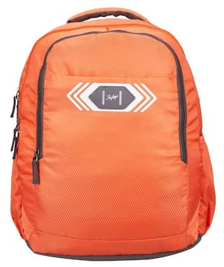 SKYBAGS FOOTLOOSE VIBER 02 SCHOOL BAG ORANGE
