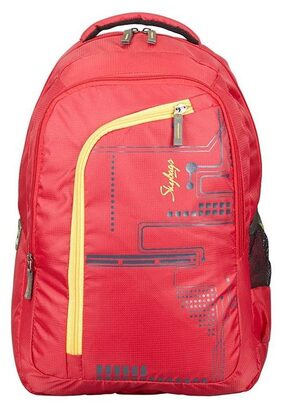 SKYBAGS FOOTLOOSE ROUTER 3 LAPTOP BACKPACK RED
