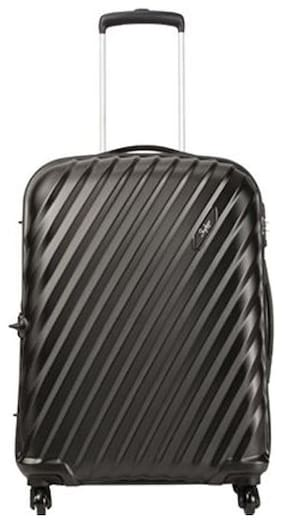 Skybags Large Size Hard Luggage Bag ( Black , 4 Wheels )