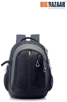 Skybags 22 ltr Black Polyester Laptop backpack