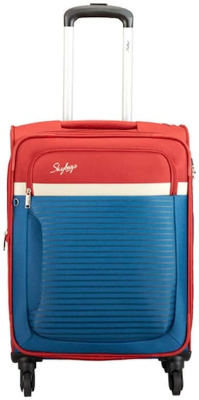 Skybags SKYBAGS_STGLIW57DBL Cabin Size Hard Luggage Bag ( Multi , 4 Wheels )