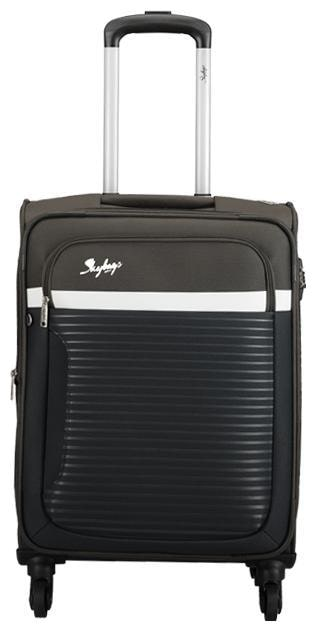 Skybags Cabin Size Soft Luggage Bag   Green , 4 Wheels   by VIP Industries