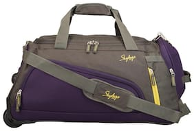 Skybags Cabin Size Duffle Strolly - Grey , 2 Wheels