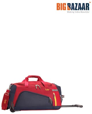 c1e3465bf03c Buy Skybags Hatch 67 cm Duffle On Wheel (Red) Online at Low Prices ...