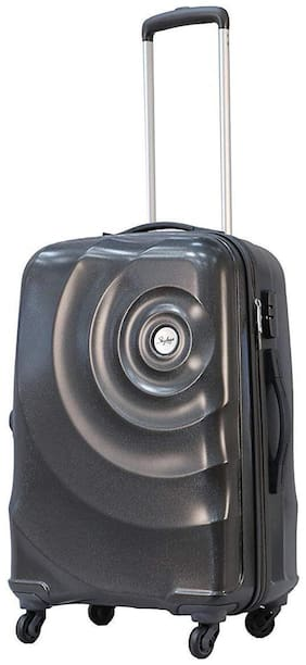 Skybags Medium Size Hard Luggage Bag ( Grey , 4 Wheels )