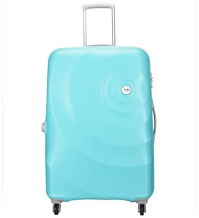 Skybags Large Size Briefcase ( Blue , 4 Wheels )