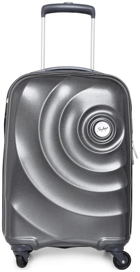 Skybags Cabin Size Soft Luggage Bag - Grey , 4 Wheels
