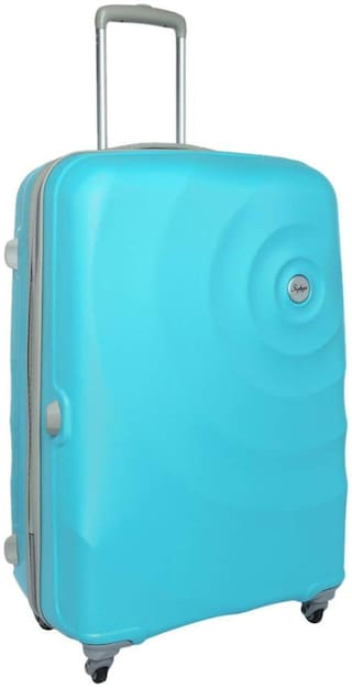 Skybags Large Size Hard Luggage Bag - Blue , 4 Wheels