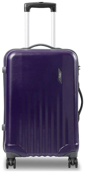 Skybags Large Size Hard Luggage Bag ( Purple , 4 Wheels )