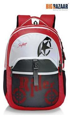 Skybags Skater 01 Laptop Backpack (Red)