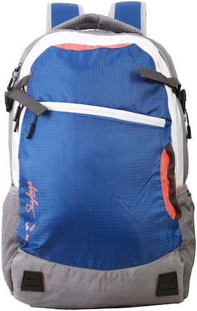 Skybags Blue Polyester Backpack