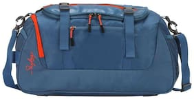 Skybags Synthetic Men Duffle Bag - Blue