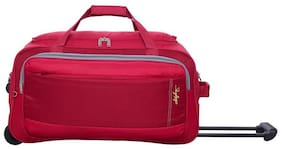 Skybags Unisex Polyester Zipper Luggage & Trolley Bags Red