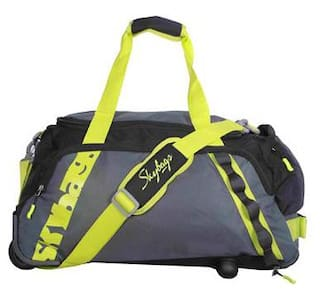 c85f430b3501 Buy Skybags Polyester Men Duffle Bag - Black Online at Low Prices in ...