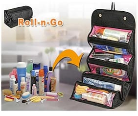 snatch4deals  Roll-N-Go Jewellery And Cosmetics Organiser And Storage Travel Bag