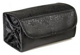 Soi Roll-N-Go Black Cosmetic Bag