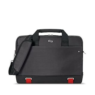 "Solo Pro Aegis Laptop Briefcase Rfid Pocket 15.6"", Black"