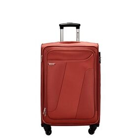 Sonnet Luggage & Trolley BagsUnisex Hd Matt Polyester Rust