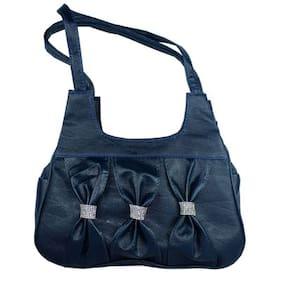 SPERO Blue Synthetic Handheld Bag