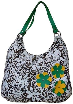 Spice Art Brown Canvas Handheld Bag