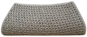 Spice Art Women Solid Canvas - Clutch Grey