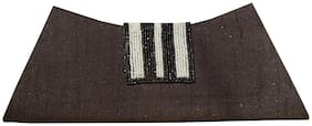 Spice Art Women Printed Leather - Clutch Brown