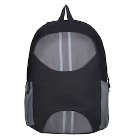 Spykar Grey Backpack For Unisex