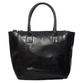 Srota Black Hand Bag (Pack Of 2)
