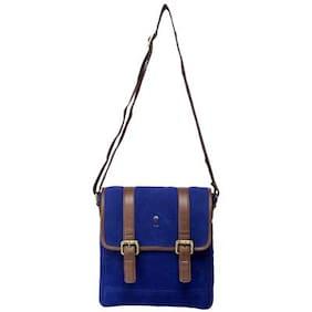 Srota Blue Sling Bag (Pack Of 2)