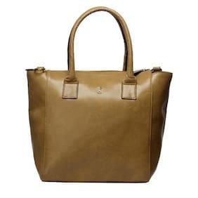 Srota Brown Hand Bag (Pack Of 2)