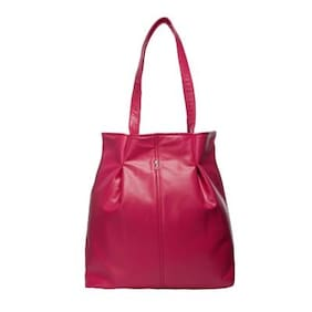 Srota Pink Hand Bag (Pack Of 2)