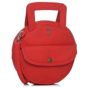 Srota Women Red Handbag (Pack Of 2)