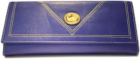 STILVOLL Women Blue PU Wallet