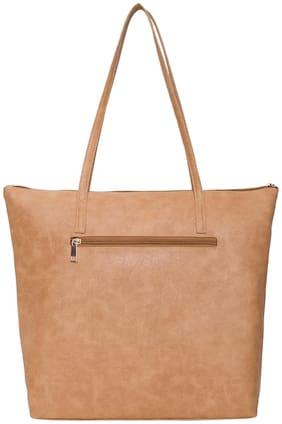 STILVOLL Brown PU Shoulder Bag