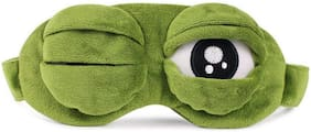 Store2508  Green Frog Eye Sleep Mask