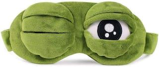 Store2508  Green Frog Eye Sleep Mask