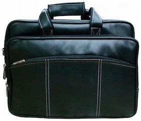 Stylcozy Office & Laptop Messenger Bag  (Black)