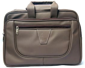 Stylcozy Office & Laptop Messenger Bag  (Brown)