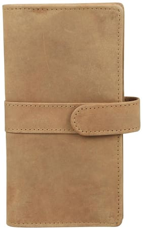 STYLE 98 Women Leather Wallet - Tan